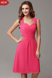 bridesmaid Fuschia dresses - JW2684