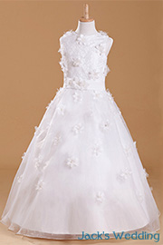 first communion Girls dresses - JW1735