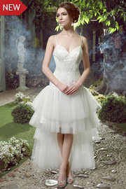 semi formal wedding gowns - JW2595