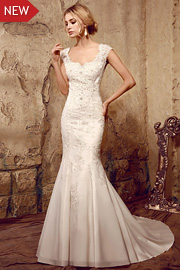 sparkly bridal dresses - JW2609