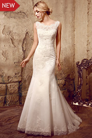 semi formal wedding gowns - JW2619