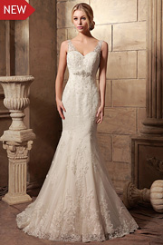sparkly bridal dresses - JW2621