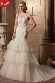 sparkly bridal dresses - JW2624