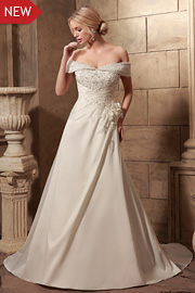 semi formal wedding gowns - JW2633