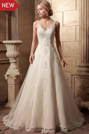 semi formal wedding gowns - JW2634