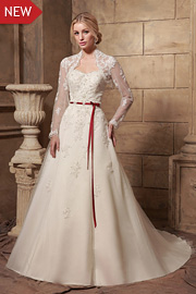 semi formal wedding gowns - JW2636
