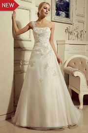 semi formal wedding gowns - JW2659